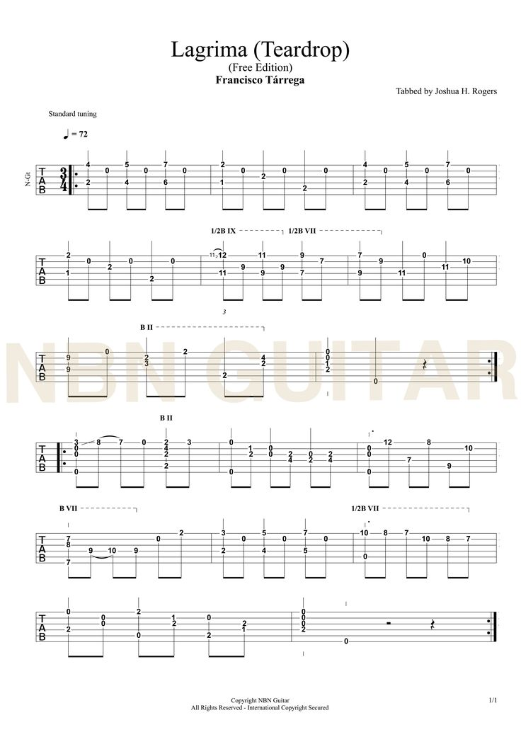62 best Classical Guitar Tabs images on Pinterest : Guitar tabs, Classical guitars and Classical ...