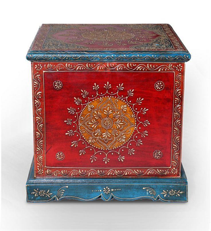 Colorful Painted Box | Furniture | Furniture | Pepperfry Product