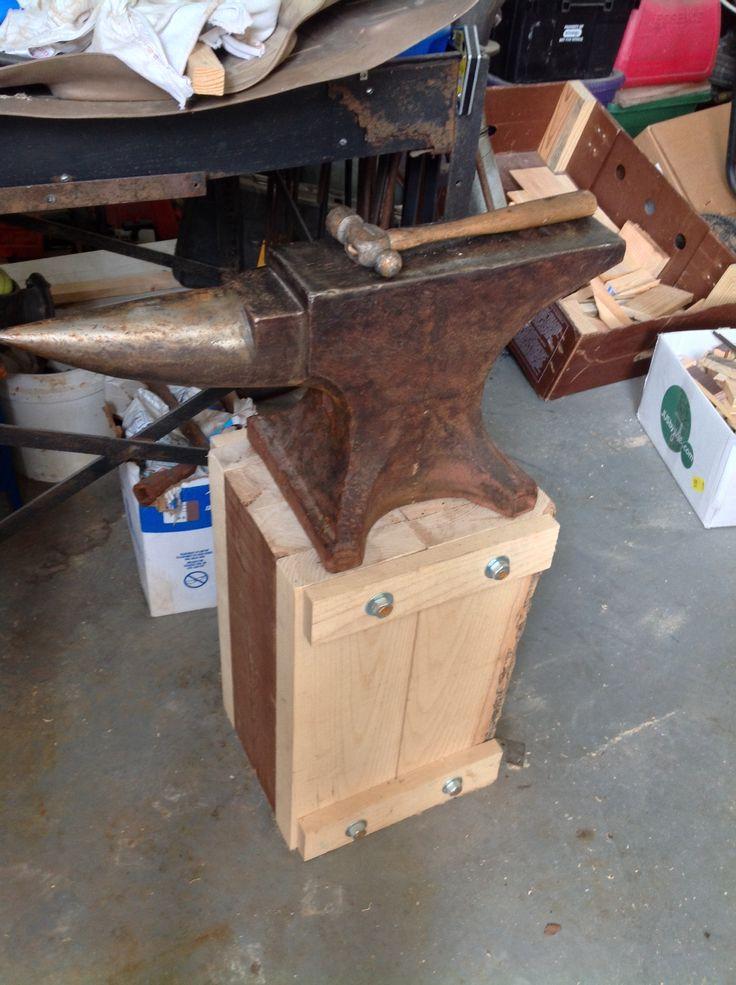 My Peter Wright Anvil Amp Stand Metal Work Blacksmith