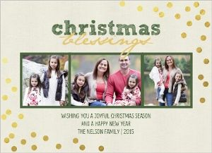 21 best Foil-Stamped Christmas Cards - Ideas and Inspiration ...