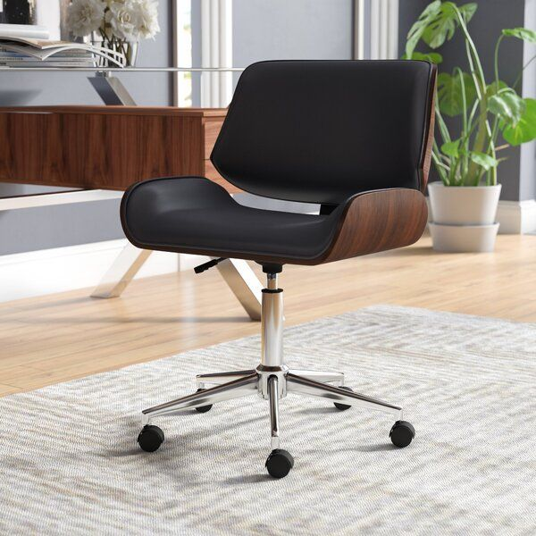 Cathina Task Chair Desk Chair Wood Desk Chair Most Comfortable Office Chair