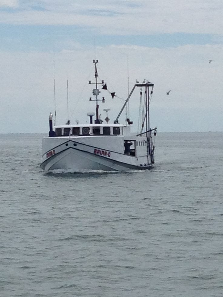Fishing boat Port Dover Lake Erie Ontario