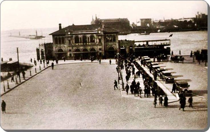 Kadıköy İskelesi - 1930 lar