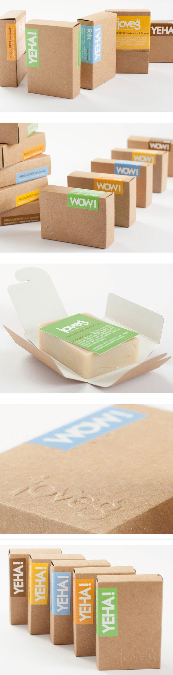 Dit zijn precies de kleurtjes die we bij Papiergoed ook zo mooi vinden | Packaging Design for joveg® PD