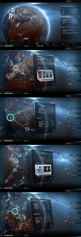 查看《机械系列游戏UI练习》原图,原图尺...@NewNewNeil采集到UI(2896图)_花瓣UI/UX