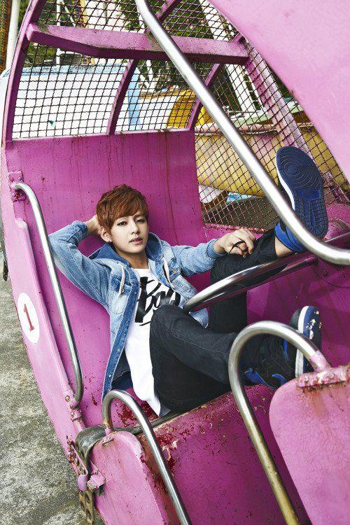 사진   V du  groupe BTS  pour divers shoot ou teaser    Une demande de  Korean-Exo