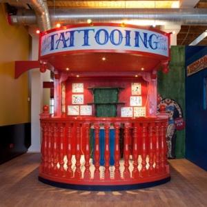 Tattoo Museum di Asterdam