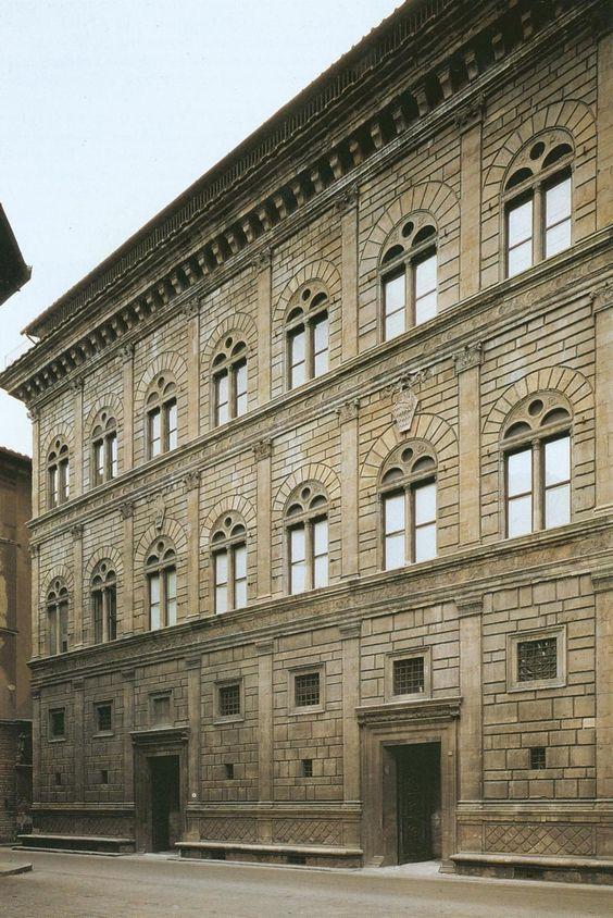 Leon Battista Alberti, Palazzo Rucellai, 1446-1451, Firenze