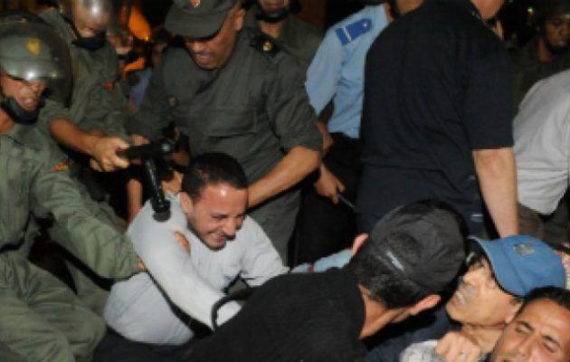 [Tribune]: Βίαιες συγκρούσεις μεταξύ φοιτητών και αστυνομίας στο Μαρόκο – Δεκάδες τραυματίες   http://www.multi-news.gr/tribune-viees-sigrousis-metaxi-fititon-astinomias-sto-maroko-dekades-travmaties/?utm_source=PN&utm_medium=multi-news.gr&utm_campaign=Socializr-multi-news