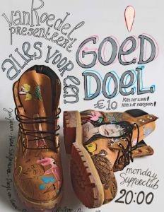 Jan Jansen Haiti Donation Shoes