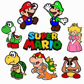 Mario svg files