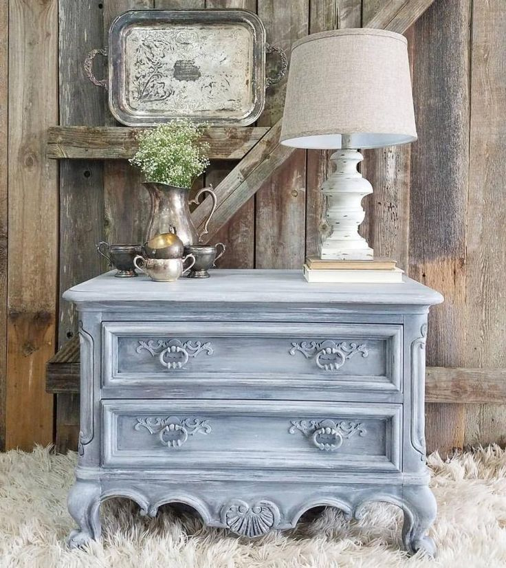 Layered Gray Victorian Nightstand. 5873 best GF Milk Paint   Inspiration Board images on Pinterest