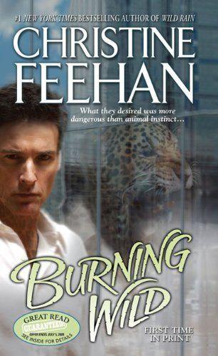 Burning Wild (Leopard) by Christine Feehan (Mass Market Paperback) Jove  New