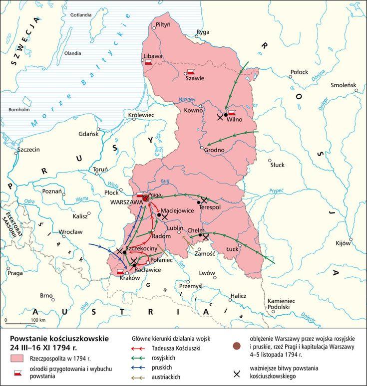 Powstanie kościuszkowskie 24 III-16 XI 1794 r.