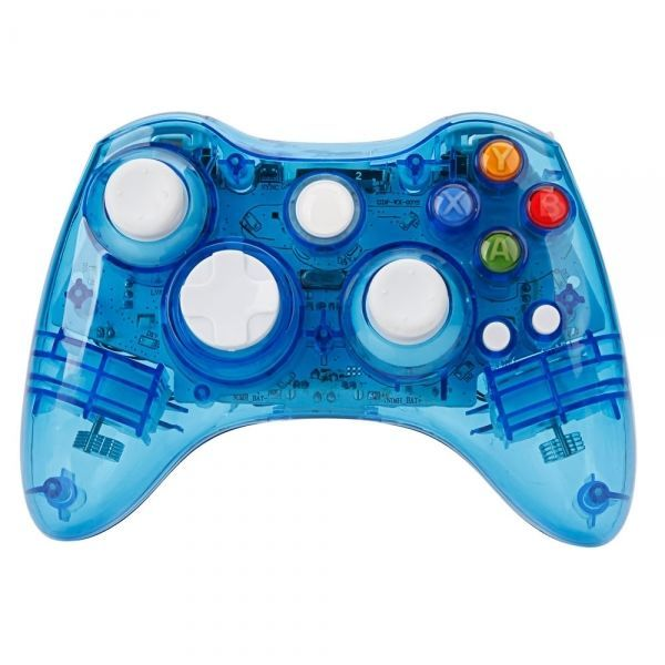 J, 360 Crystal Blue Wireless Controller Xbox Controllers: Bid: 48,46€ Buynow Price 48,46€ Remaining 08 dias 21 hrs Products Package…