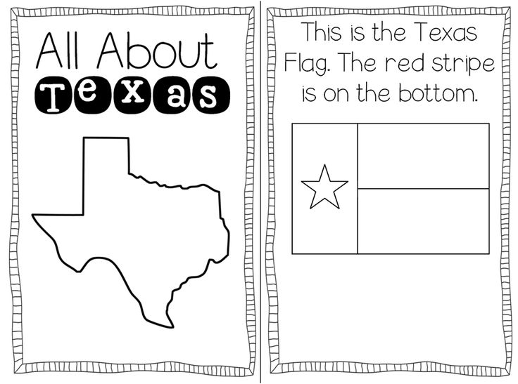 texas symbols coloring pages - photo#8