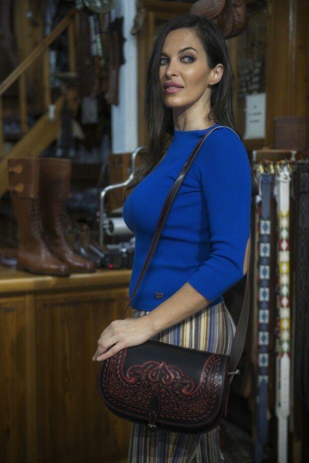 Carolina Martin en nuestra tienda.