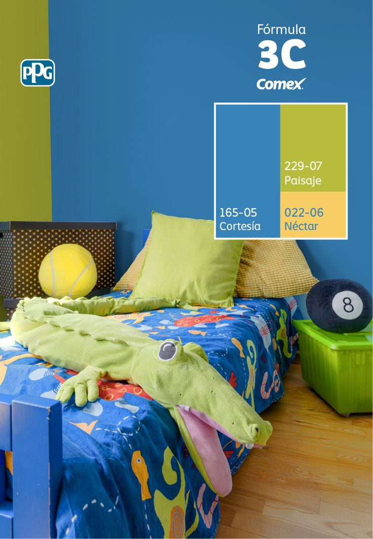 33 best comex images on pinterest 3c spaces and ppg - Colores para una habitacion ...