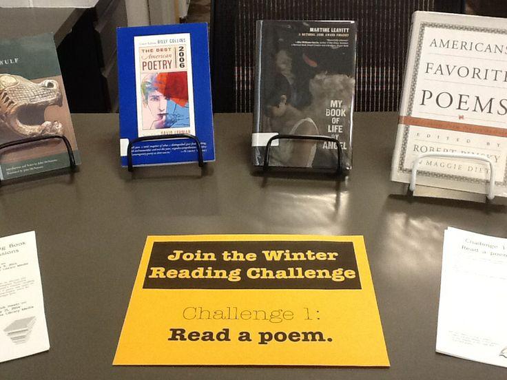 Challenge 1: Read a poem.