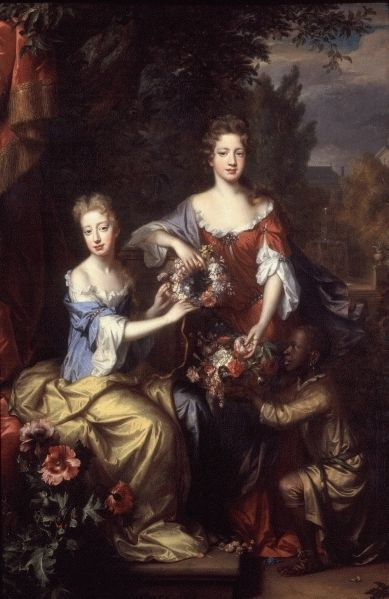 Willem Wissing - - - Lady Frances Lady Coningsby and Lady Katherine Jones 1687