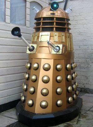 Dalek costume how to make