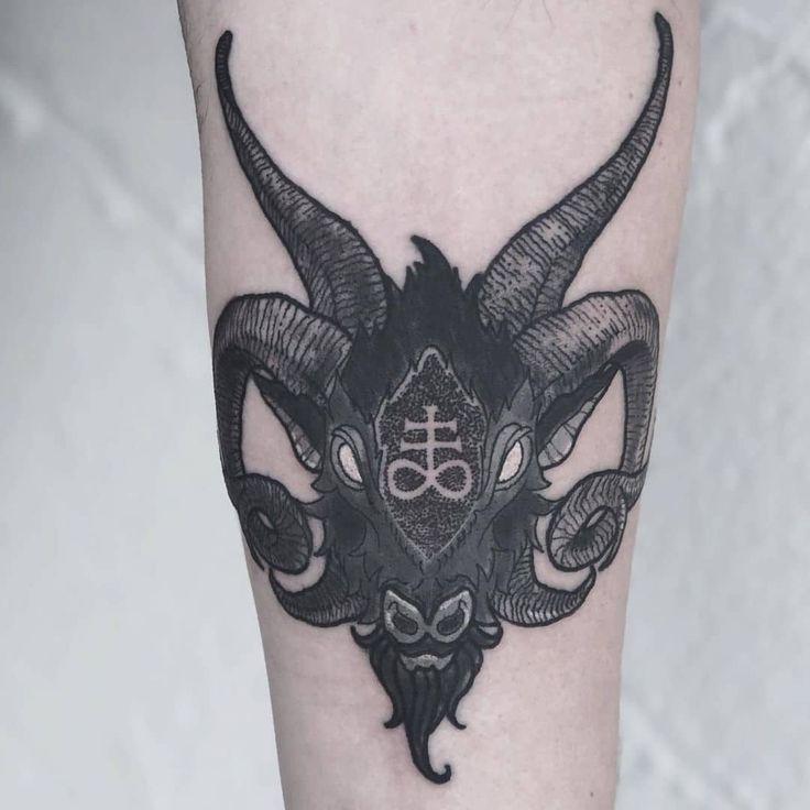 14++ Best Goat head tattoo ideas image ideas