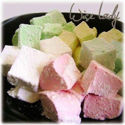 Mályvacukor - Pillecukor - Marshmallow készítése házilag