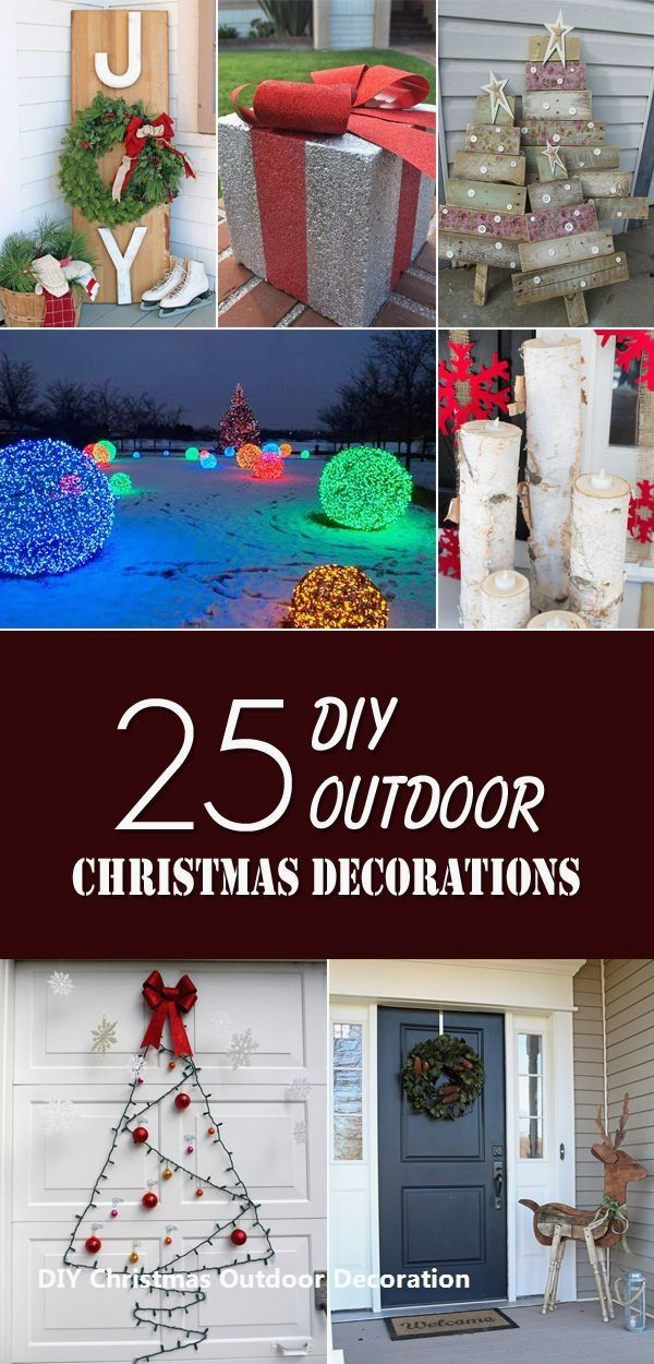 14 Antique Ideas for Outdoor Christmas Decorations 1 Easy DIY