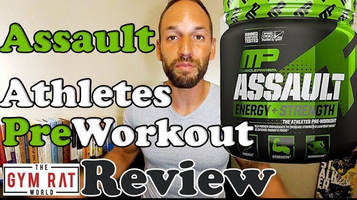 Musclepharm Assault Pre Workout Supplement Review
