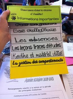 Rencontre de parents bulletin