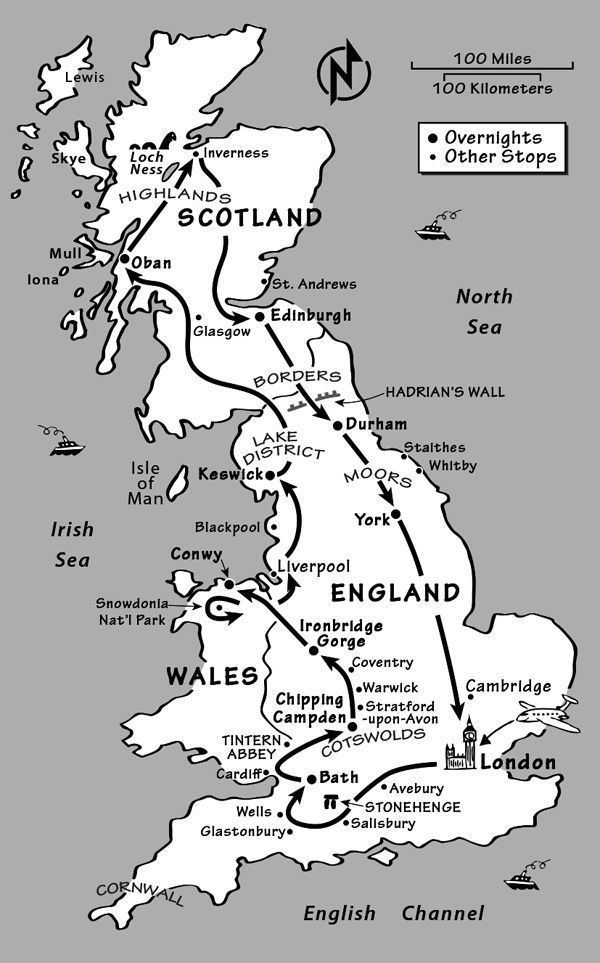 Great Britain Itinerary: Where to Go in Great Britain by Rick Steves