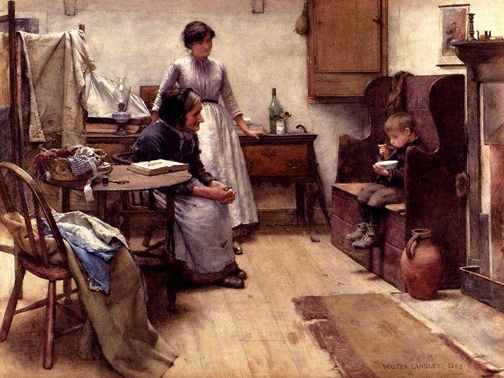 Victorian British Painting: Walter Langley