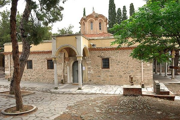Agios Nikolaos Orphanos, one site inscribed in the Unesco Heritage List