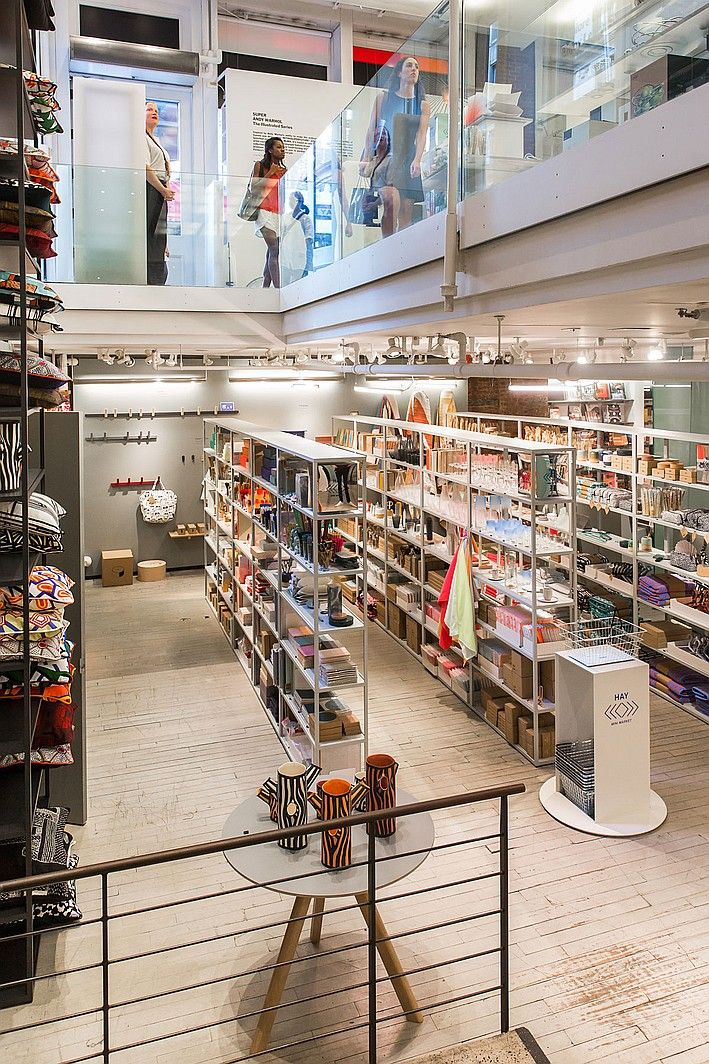 MoMA Store Brings HAY Mini Market to New York |