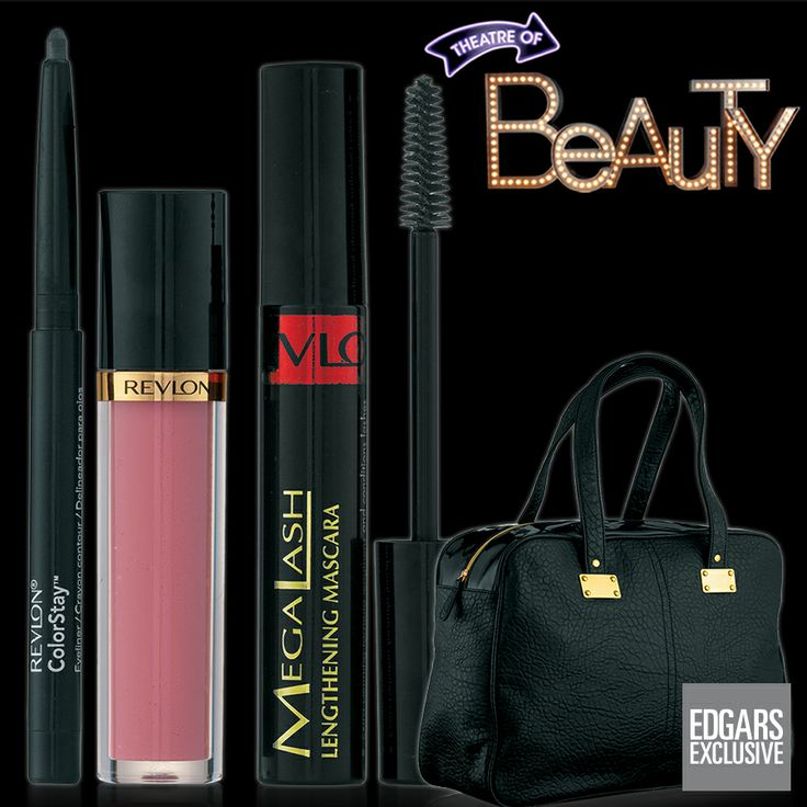 We'll spoil you with Revlon mascara, eyeliner and lipgloss when you purchase a fashionable handbag, all for just R280.00