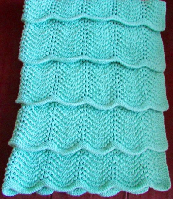 Knitting Pattern For Newborn Blanket : 667 best images about Baby afghans on Pinterest Crochet ...
