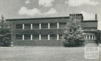 Girl's Technical School, Box Hill, 1956