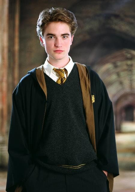 Cedric Diggory (Sept/Oct, 1977 – 24 June, 1995) was the son of Amos Diggory and his wife. He started attending Hogwarts School of Witchcraft and Wizardry in 1989, and was sorted into Hufflepuff. During his time at the school, he was a prefect, and captained the Hufflepuff Quidditch team, playing as Seeker. In his sixth year, Cedric put his name forward to compete in the Triwizard Tournament. Cedric was murdered by Peter Pettigrew with the Killing Curse, on the orders of Lord Voldemort