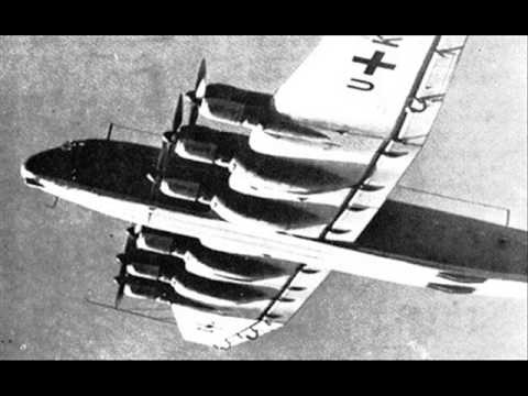 """Junkers Ju 390 -- this is the larger version of the Ju 90/290, the so-called """"Amerika Bomber"""" which supposedly circled New York City in the later years of World War II."""