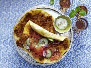 Das Rezept für Lahmacun (Türkische Pizza) und weitere kostenlose Rezepte auf LECKER.de