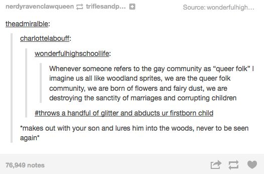 """When """"queer folk"""" was the best term ever. 