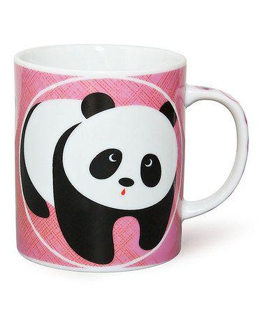Look what I found on #zulily! Pink Panda 8-Oz. Mug #zulilyfinds