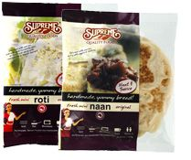 Where to Buy: Retailers, Food Service Industry Flatbread, Flat Bread, Naan, Roti, Chapati, Paratha | Supreme Quality Foods