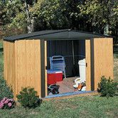 Found it at Wayfair - Woodlake 8 Ft. W x 6 Ft. D Steel Storage Shed