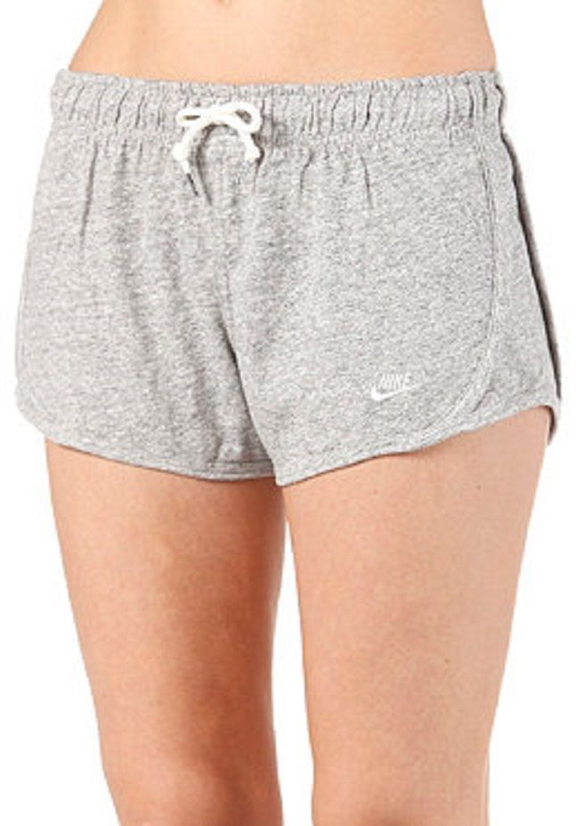 651499-063 New with tag Nike Women's time out tempo cotton short  GREY #Nike #Shorts