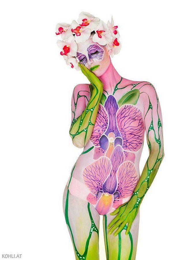 plus de 1000 id es propos de body painting sur pinterest photos de peinture de corps. Black Bedroom Furniture Sets. Home Design Ideas