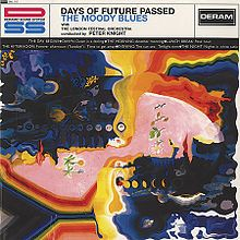 """The Moody Blues Album """"Days of Future Passed,"""" is an album everyone should listen to at least once. It combines the psychodelic feel of the 60's with beautiful melodic lines played by flutes, trumpets, and you name it! It is also laced with well written poetry. Just give it a listen! =)"""