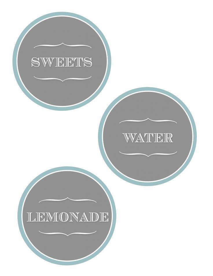 Free Printable LabelsLabels Download, Chicken Salad, Food Labels, Blog Design, Free Labels, Printables Labels, Parties Printables, Free Printables, Backyards Bash