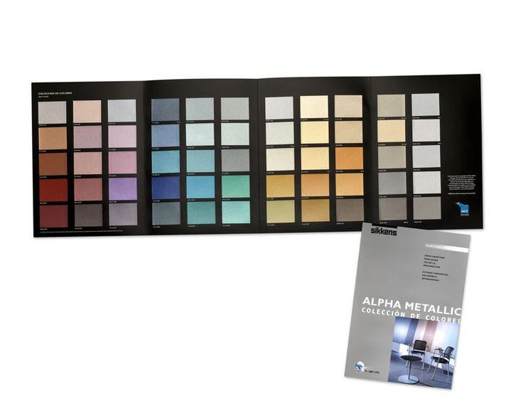 metallic muurverf kleuren