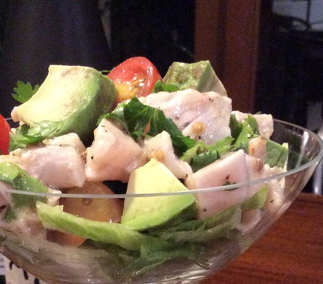 Fuel Fit | King Fish Ceviche